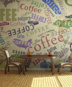 Fotobehang - The fragrance of coffee-1