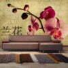 Fotobehang - Japanese orchid-1