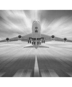 Fotobehang - Naar de wolken-2