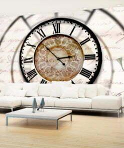 Fotobehang - Clock movement-1