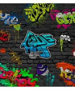 Fotobehang - Graffiti wall-2