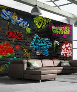 Fotobehang - Graffiti wall-1