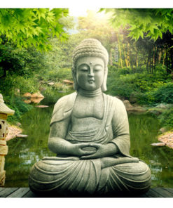 Fotobehang - Buddha's garden-2