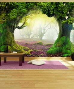 Fotobehang - Enchanted forest-1