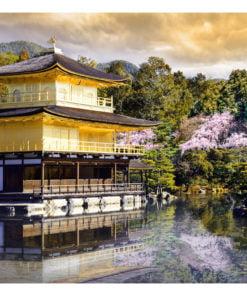 Fotobehang - Japanese landscape-2