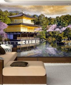 Fotobehang - Japanese landscape-1
