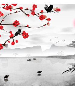 Fotobehang - Japanese garden-2