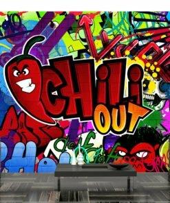 Fotobehang - Chili out-1