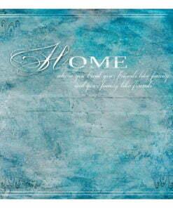 Fotobehang - Home, where you ...-2