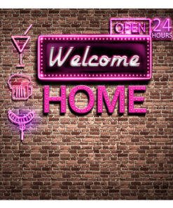 Fotobehang - Welcome home-2