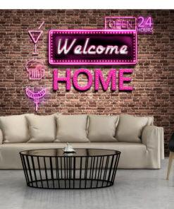 Fotobehang - Welcome home-1
