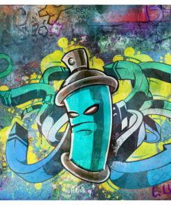 Fotobehang - Graffiti maker-2