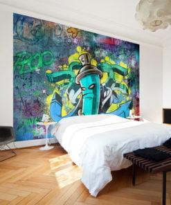 Fotobehang - Graffiti maker-1