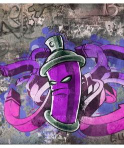Fotobehang - Graffiti spray can-2