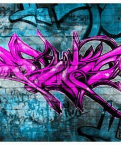 Fotobehang - Anonymous graffiti-2