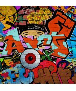 Fotobehang - Graffiti art-2