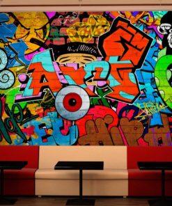 Fotobehang - Graffiti art-1