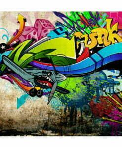 Fotobehang - Funky - graffiti-2