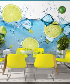 Fotobehang - Refreshing lemonade-1