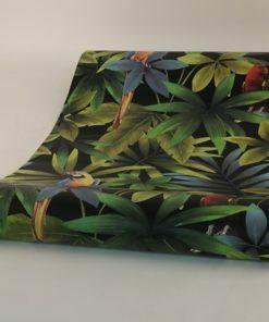 Vinyl behang J92904 Ugepa papagaaien