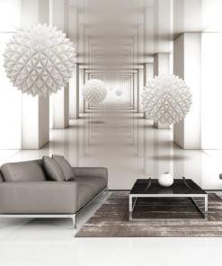 Fotobehang - Gateway to the Future-1