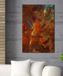 Schilderij - Dance of Elements-2