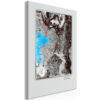 Schilderij - One Life - One Chance (1 Part) Vertical-1