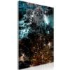 Schilderij - Andromeda (1 Part) Vertical-1