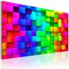 Schilderij - Colour Depth-1