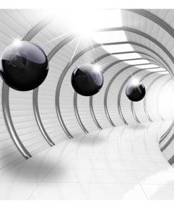 Fotobehang - Futuristic Tunnel-2