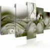 Schilderij - Green Configuration-1