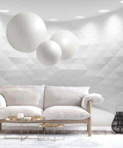 Fotobehang - Geometric Room-1