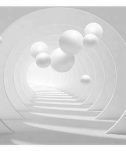 Fotobehang - 3D Tunnel-2