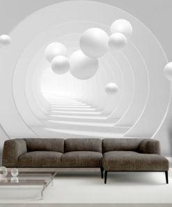 Fotobehang - 3D Tunnel-1