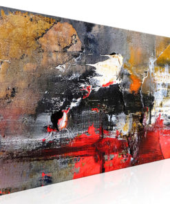 Schilderij - Fiery Rush (1 Part) Narrow-1