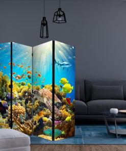 Vouwscherm - Underwater Land II [Room Dividers]-2