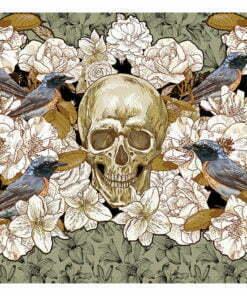 Fotobehang - Among flowers-2