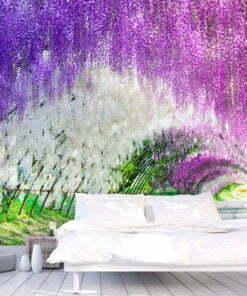Fotobehang - Enchanted garden-1
