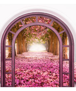 Fotobehang - Door To The Magic Land-2
