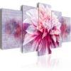 Schilderij - Violet Dahlia-1