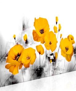 Schilderij - Sunny Meadow (1 Part) Narrow-1