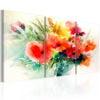 Schilderij - Watercolor Bouquet-1