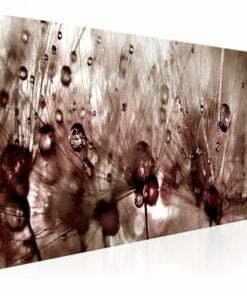 Schilderij - Dandelions After Rain-1