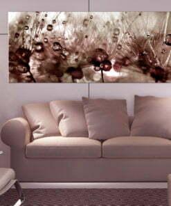 Schilderij - Dandelions After Rain-2