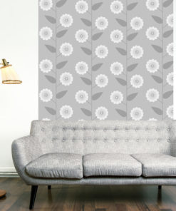 Fotobehang - Floral Pattern-1
