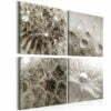 Schilderij - Grey Dandelion-1