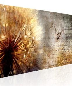 Schilderij - Golden Dandelion-1
