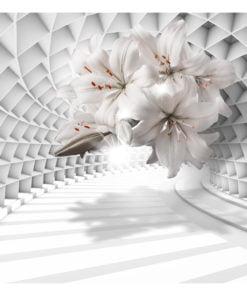 Fotobehang - Flowers in the Tunnel-2