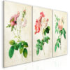 Schilderij - Floral Trio (Collection)-1