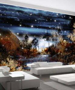 Fotobehang - Magical forest-1